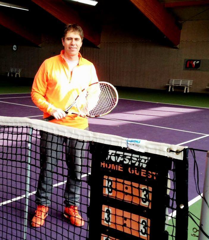 Tennistrainer Jorge Binia