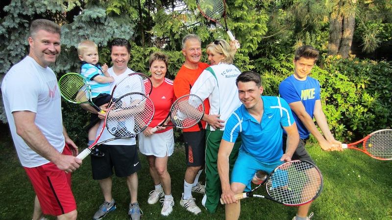2014-05 Tennisfamilie